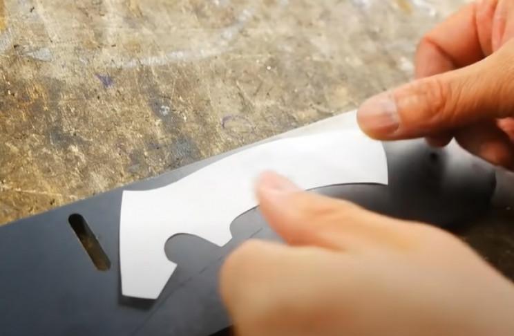 diy rotary cutter cut out design