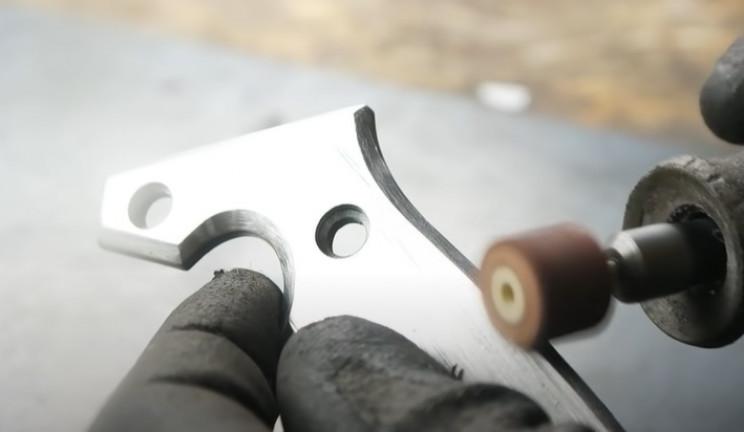diy rotary cutter polish handle