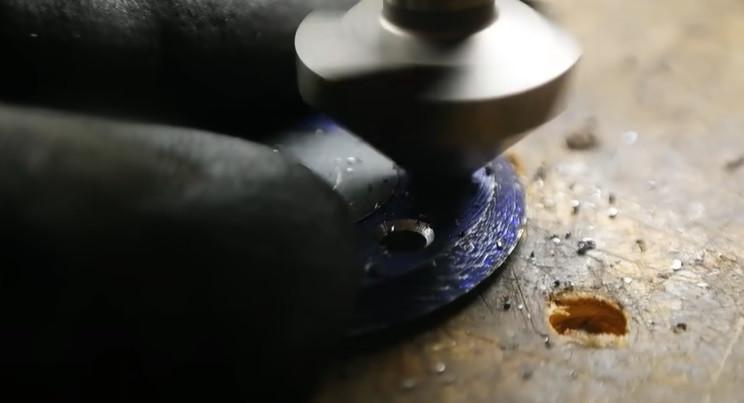 diy rotary cutter holes