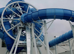 This Rotating Water Slide is an Engineering Masterpiece