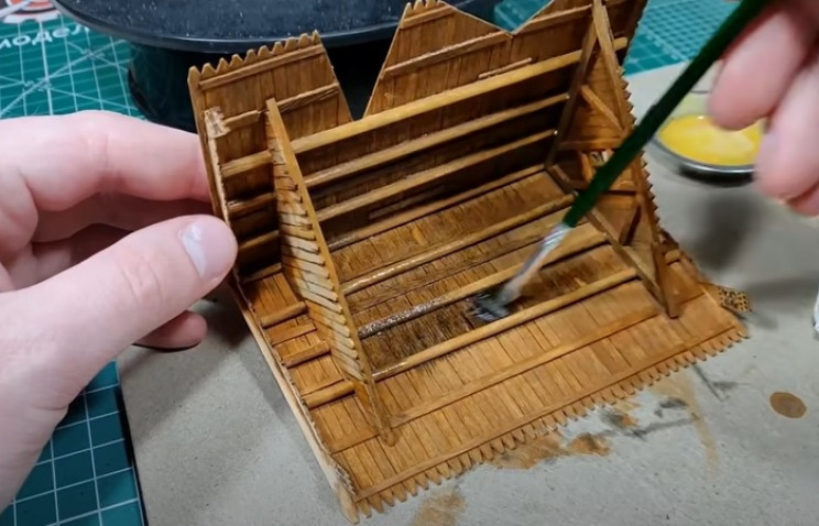 diy wooden house tone