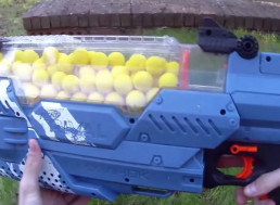 Nerf Gun Fires Foam Balls at up to 70 MPH