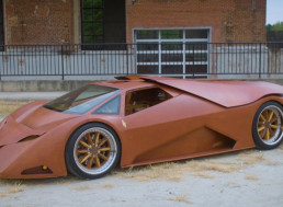 Designer Builds World's First Wooden Supercar, Spends 20,000 Hours