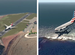 Huge Airplane vs. Shortest Runway, This Simulation Shows What Would Happen