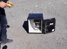YouTuber Blows up a Grenade Inside a Safe Just Because