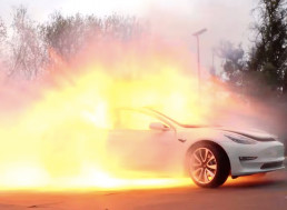Guys Try to Trick the Internet With an Exploding Tesla Prank