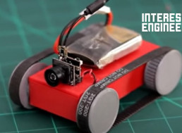 How to 3D Print Your Own App-Controlled Mini Tank with FPV Camera