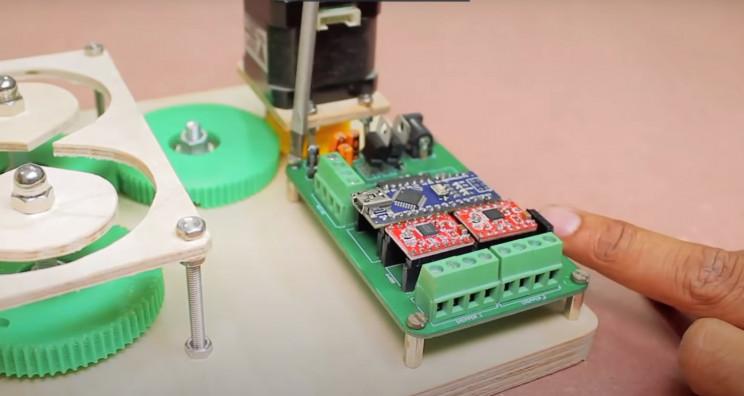 arduino braider mount pcb