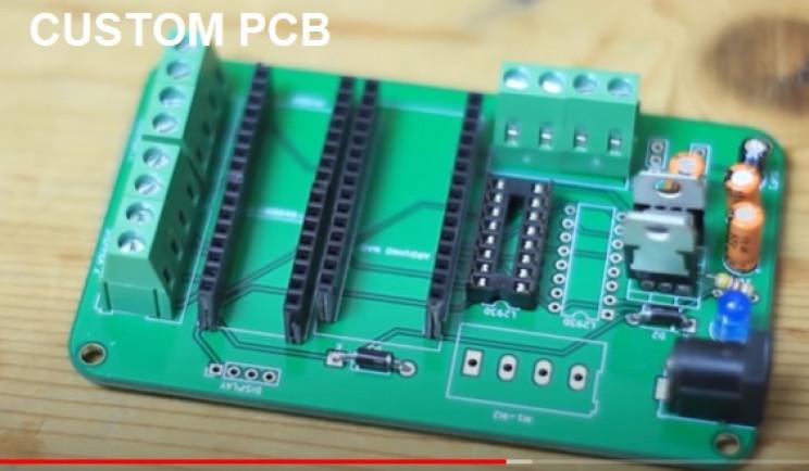 arduino braider custom pcb