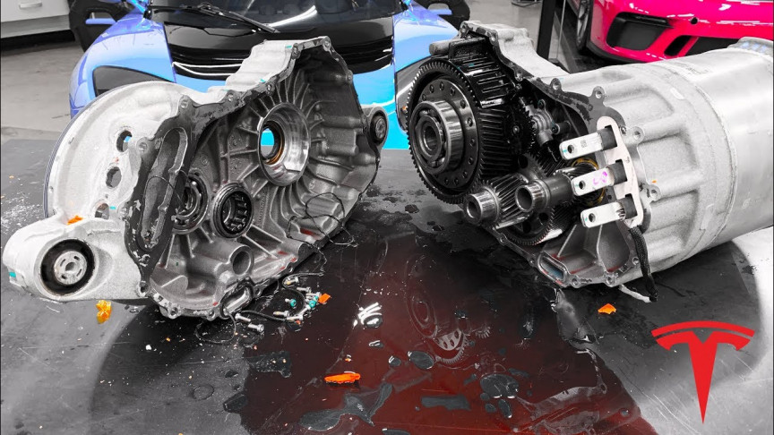 Watch this Video to Find Out What's Inside a Tesla Motor