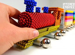Making Your Own Magnetic Stream Train Toy
