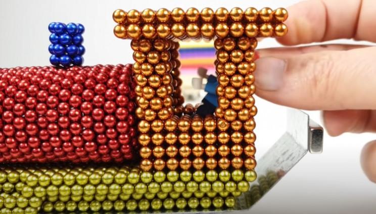 magnet train lego driver