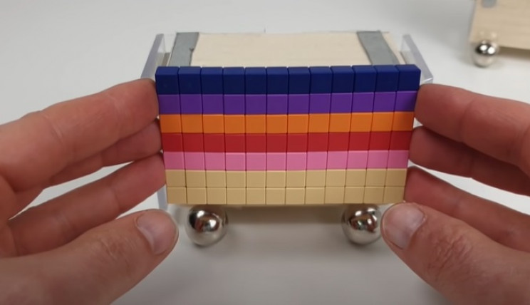 magnetic train carriage walls