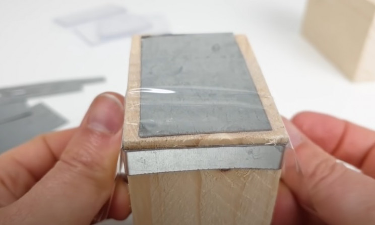 magnetic train wooden blocks