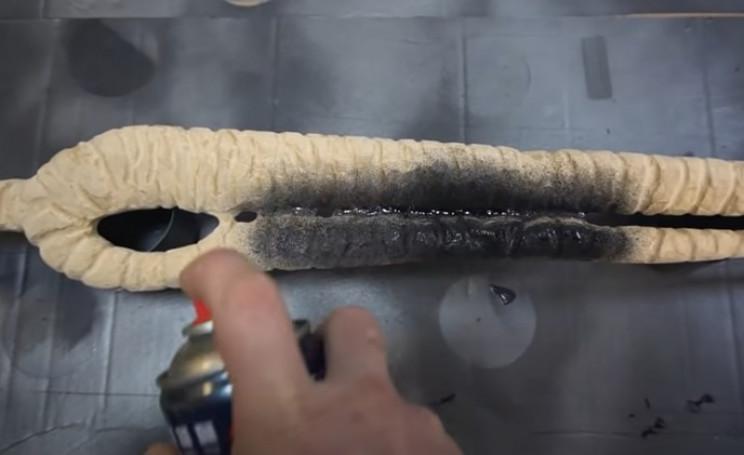sub zero sword paint blade
