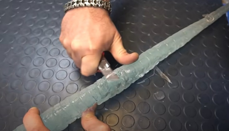 sub zero sword remove mold lines
