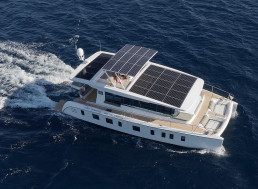 Watch the Fully Solar-Powered Yacht 'Tesla of the Seas' Travel the Ocean