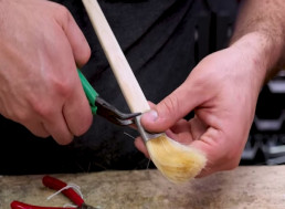 Let Your Inner Picasso Out: Learn How to Make Your Own Paintbrushes in 11 Minutes