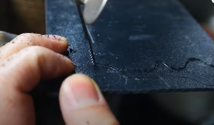 diy razor handle kydex sheet
