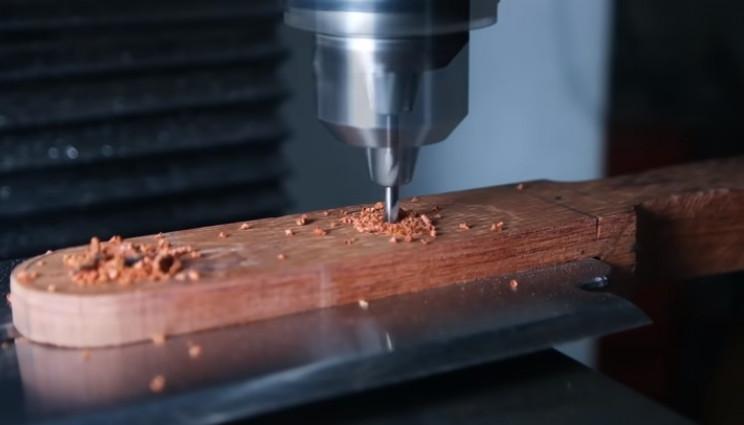 diy razor handle drill holes