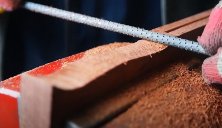 diy razorblade handle shape