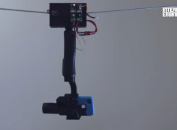 This Hand Made Bluetooth-Controlled Wired Camera Takes Pictures from All Angles