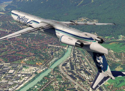 Flight Simulation Answers Whether Commercial Planes Can Fly Upside Down
