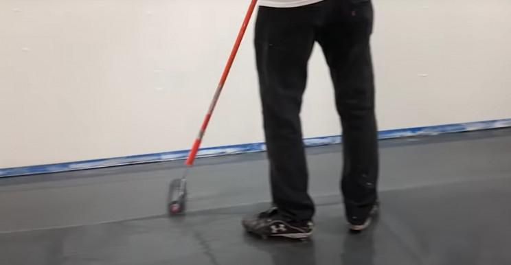 epoxy floor roller