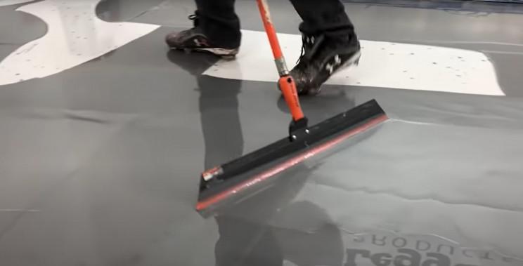 epoxy floor squeegee