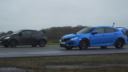 New Toyota GR Takes On Honda Civic Type R in Thrilling Drag Race