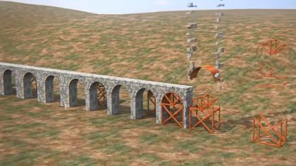 Video Shows How Romans Built 53-Mile-Long Aqueduct of Gades