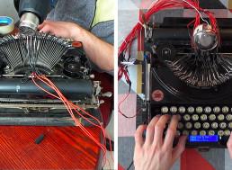 YouTuber Turns a 1920s Typewriter Into a MIDI Drum Machine