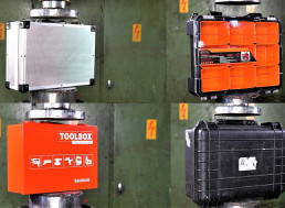 Watch How Steel, Aluminum and Plastic Tool Boxes Perform Under a Hydraulic Press