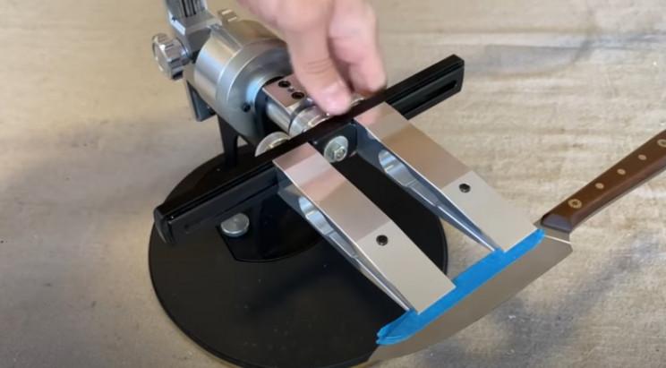 diy knife sharpener complete
