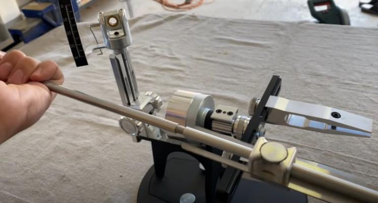 diy knife sharpener rod assembly