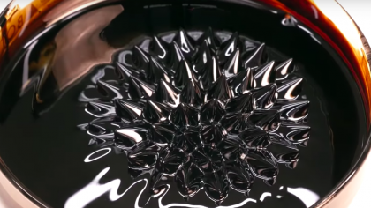 This DIY Video Showcases the Intensely Cool Functions of Ferrofluid