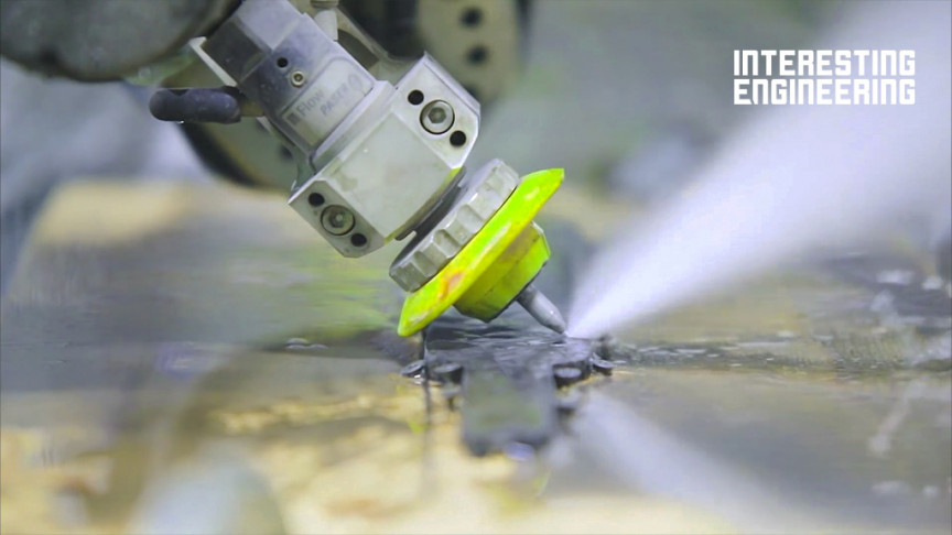 The Extreme Power of Water Cutting Machines