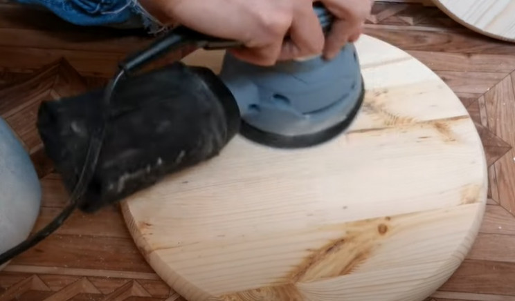 diy floating table sand