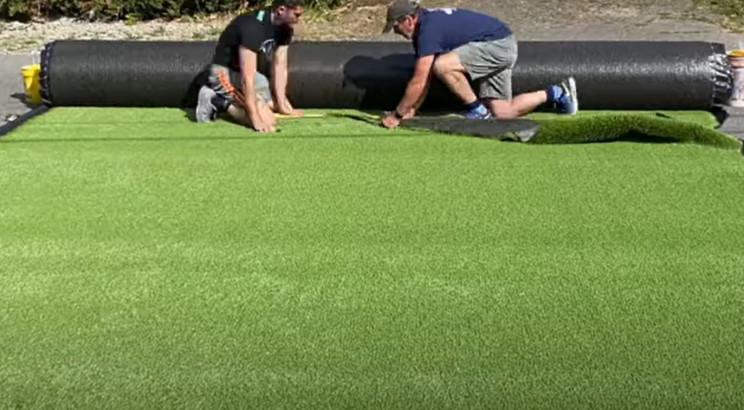synthetic lawn grass