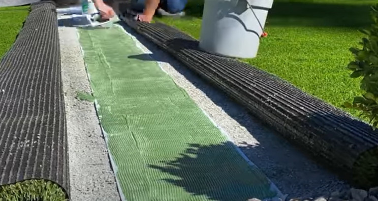 synthetic lawn seam tape