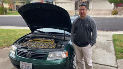 YouTuber Converts Volkswagen Passat into an Electric Vehicle