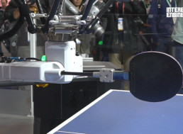 This Table Tennis Robot Can Beat You But All It Wants to Do Is Train You