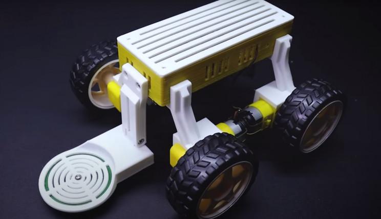 Arduino robot cap