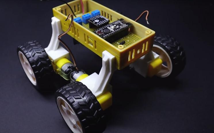 arduino metal detector circuit board