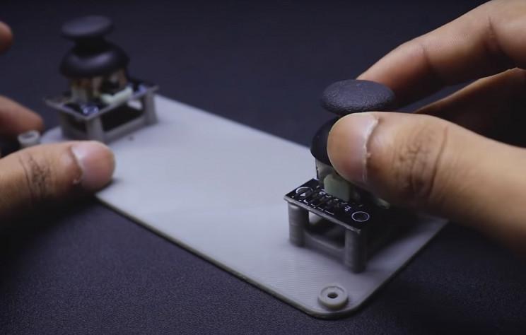 arduino metal detector joystick