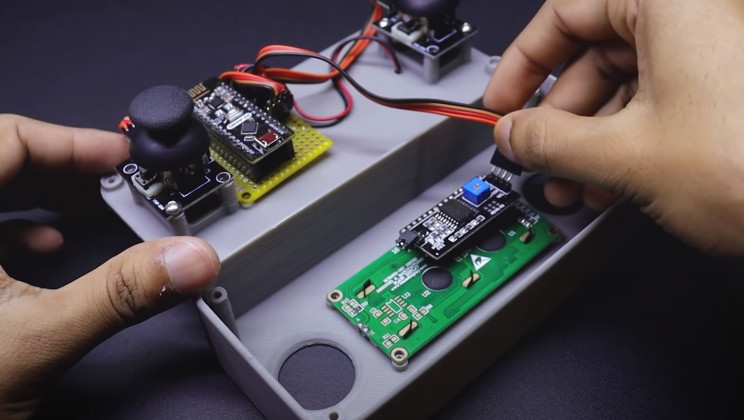 arduino metal detector lcd pcb