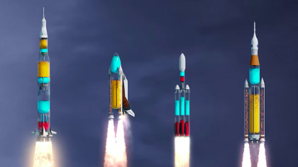 Famous Rockets Go Transparent: Stunning Video Shows How They'd Look During Flight