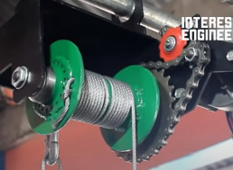 Check out This DIY Motorized Winch Made from a Wiper Blade Motor