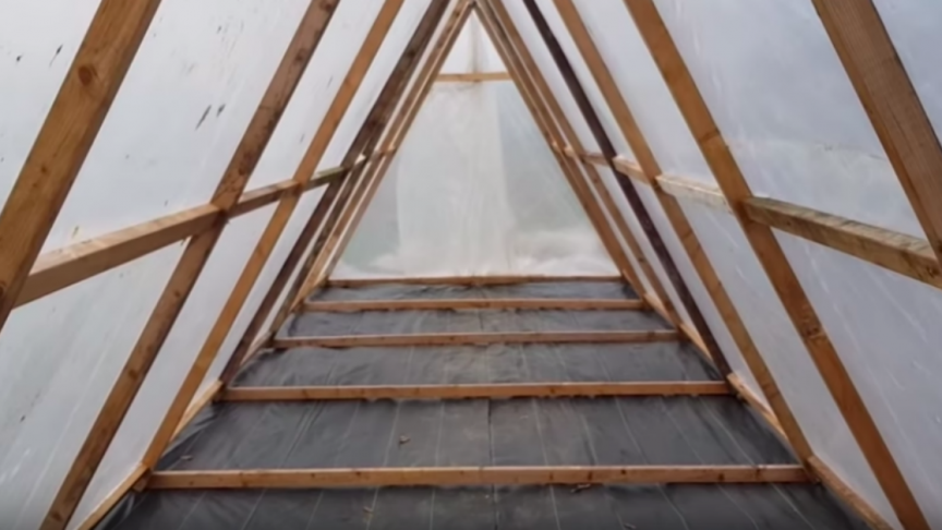Build Your Very Own Simple Greenhouse under $200