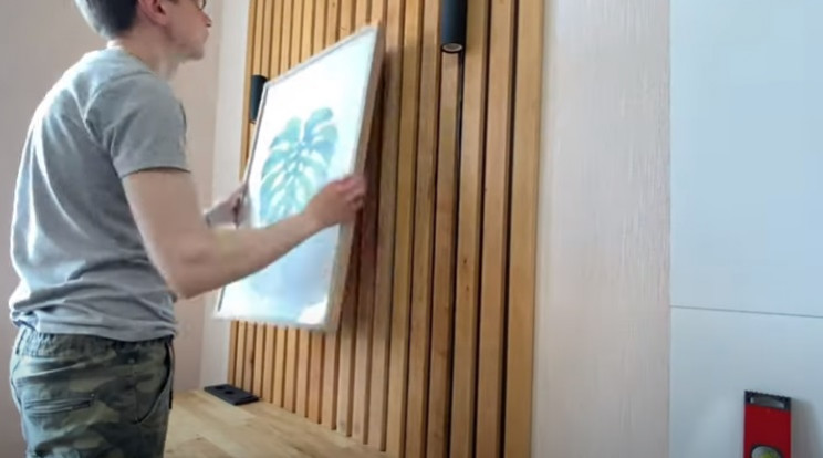 diy floating desk paintings and pictures